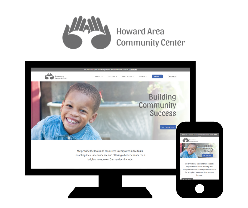 Hoan Marketing has partnered with Howard Area Community Center (HACC) of Chicago, IL for custom WordPress website design services.