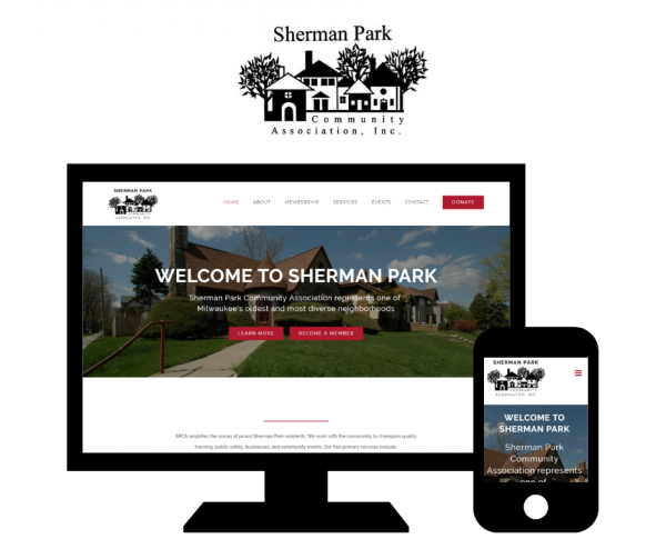 Hoan Marketing has partnered with Sherman Park Community Association, which empowers Milwaukee families, for custom WordPress website design services.