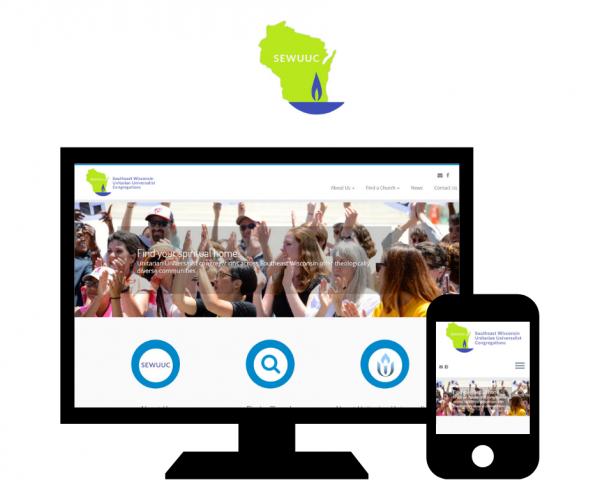 Hoan Marketing has partnered with Southeast Unitarian Universalist Congregations (SEWUUC) for custom WordPress website design services.